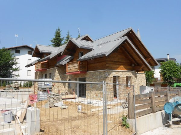 nuova costruzione edificio bifamiliare